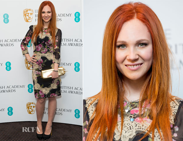 Juno Temple In Dolce & Gabbana - EE Rising Star Award Nominations Announcement