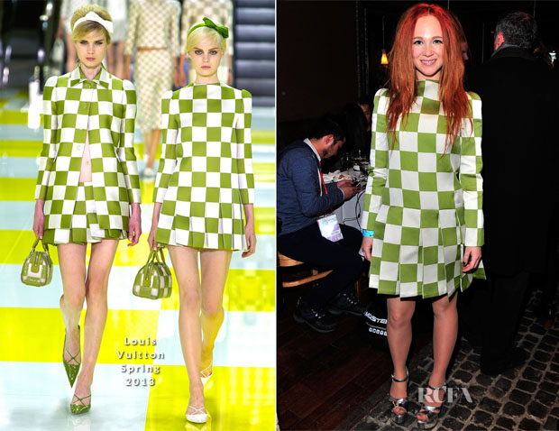 Juno Temple In Louis Vuitton - MorningStar Farms ChefDance