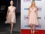 Kaley Cuoco In Christian Siriano - 2013 People's Choice Awards