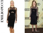 Kate Bosworth's Emilio Pucci Silk Net Dress