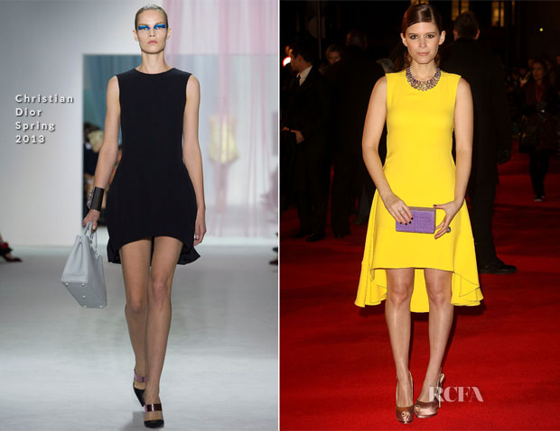 Kate Mara In Christian Dior S13 - 'House of Cards' Netflix Original Series Launch