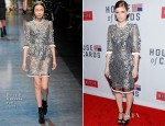 Kate Mara In Dolce & Gabbana - 'House Of Cards' New York Premiere