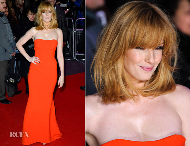 Kelly Reilly In Antonio Berardi - 'Flight' London Premiere