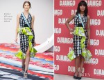 Kerry Washington In Peter Pilotto - 'Django Unchained' Rome Photocall