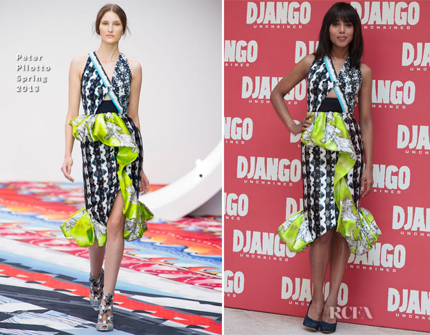 Kerry-Washington-In-Peter-Pilotto-Django-Unchained-Rome-Photocall
