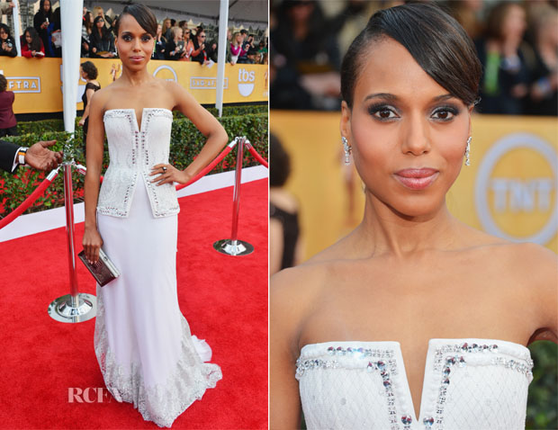 Kerry Washington In Rodarte - 2013 SAG Awards