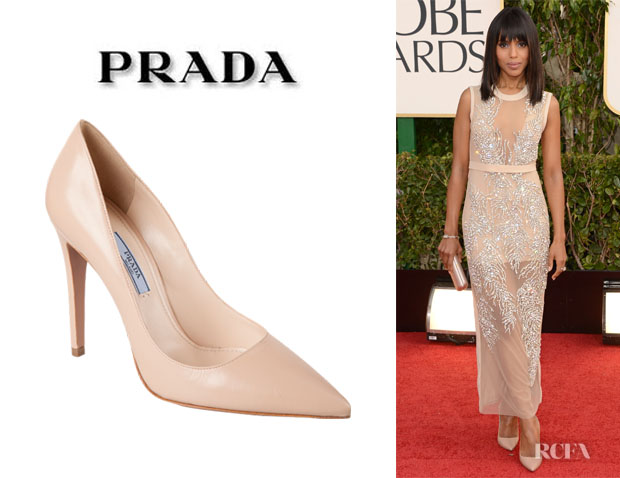 Kerry Washington's Prada Pointed Toe Pumps