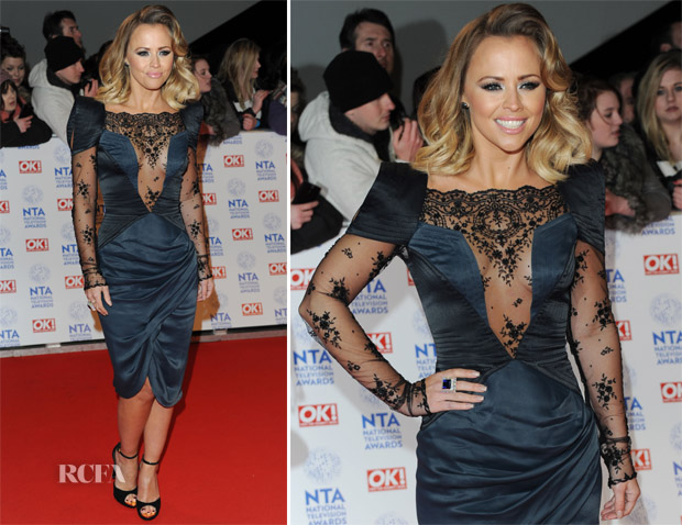 Kimberley Walsh In Unrath Strano - 2013 National Television Awards