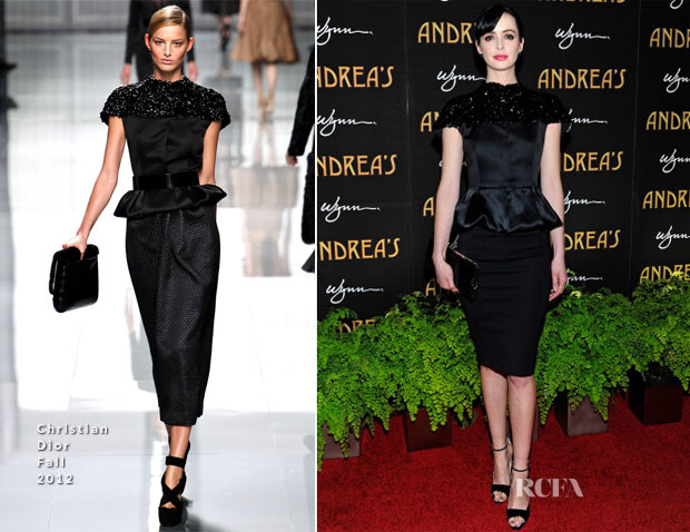Krysten Ritter In Christian Dior - Andrea's Grand Opening At Wynn Las Vegas
