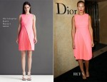 Lara Bingle In Christopher Kane - Christian Dior Sydney Boutique Opening