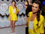 Lea Michele In Lisa Ho - 2013 TCA Winter Press Tour