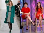 Lena Dunham In Marni & Allison Williams In Oscar de la Renta - The Today Show