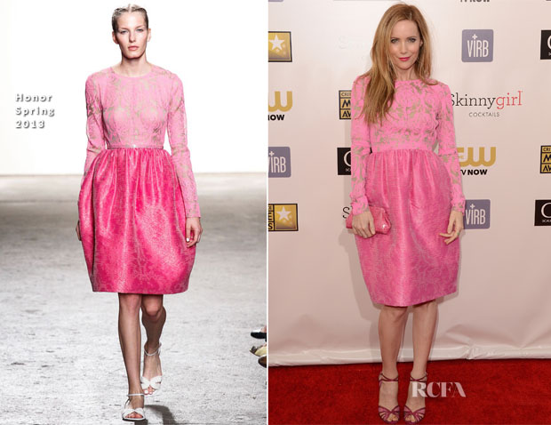 Leslie Mann In Honor - 2013 Critics' Choice Movie Awards