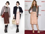Leslie Mann In Marni - 'This Is 40' Berlin Photocall