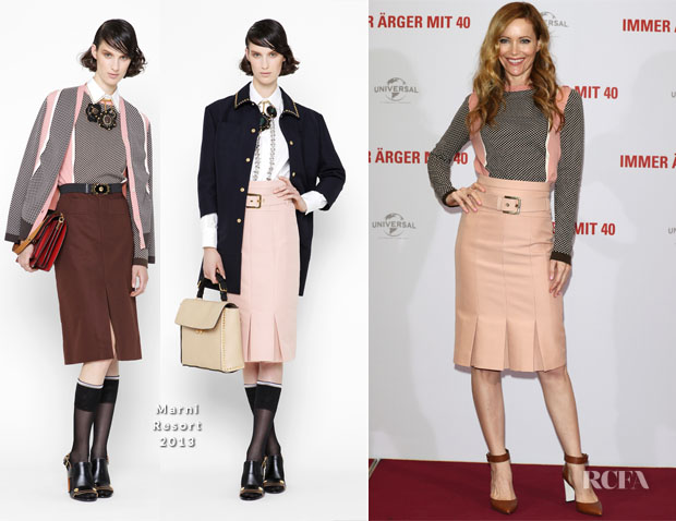 Leslie Mann In Marni - 'This Is 40' Rome Photocall