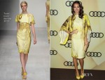 Louise Roe In Todd Lynn - Audi Kicks Off Golden Globes Week 2013