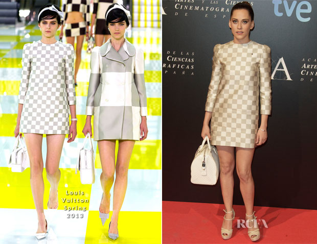 Maria Leon In Louis Vuitton - Goya Awards' Final Candidates Party Photocall