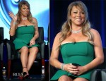 Mariah Carey In Lanvin - 2013 Winter TCA Tour
