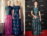 Marion Cotillard In Erdem - BAFTA Los Angeles 2013 Awards Season Tea Party