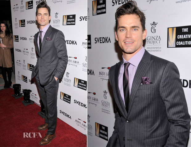 Matt Bomer In Alton Lane - The Creative Coalition Night Before Dinner