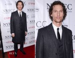 Matthew McConaughey In Dolce & Gabbana - 2012 New York Film Critics Circle Awards