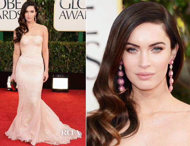 Megan Fox In Dolce & Gabbana - 2013 Golden Globe Awards