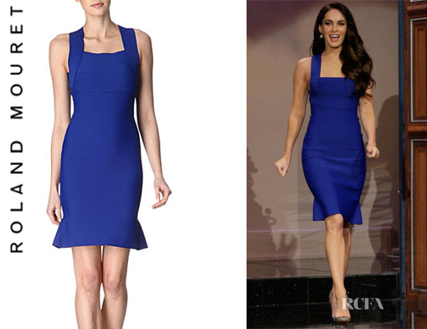 Megan Fox's Roland Mouret Brooks Dress