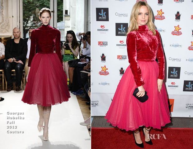 Mena Suvari In Georges Hobeika Couture - Jamie Kennedy's New Year's Eve Party