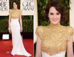Michelle Dockery In Alexandre Vauthier Couture - 2013 Golden Globe Awards