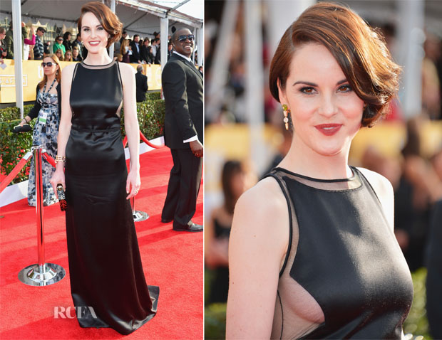 Michelle Dockery In Chado Ralph Rucci - 2013 SAG Awards