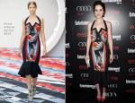 Michelle Dockery In Peter Pilotto - Entertainment Weekly's Pre-SAG Awards Party