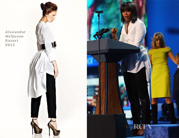 Michelle Obama In Alexander McQueen - 2013 Kids' Inaugural Concert