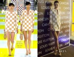 Miranda Kerr In Louis Vuitton - Louis Vuitton Cancun Boutique Opening