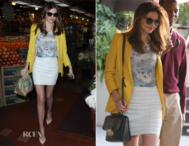 Miranda Kerr in Stella McCartney - Whole Foods