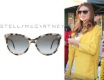 Miranda Kerr's Stella McCartney Grey Gradient Sunglasses
