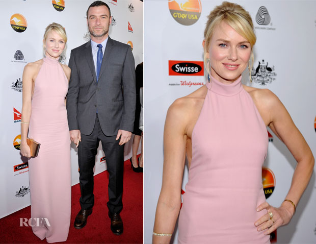 Naomi Watts In Gucci - 2013 G'Day USA Black Tie Gala