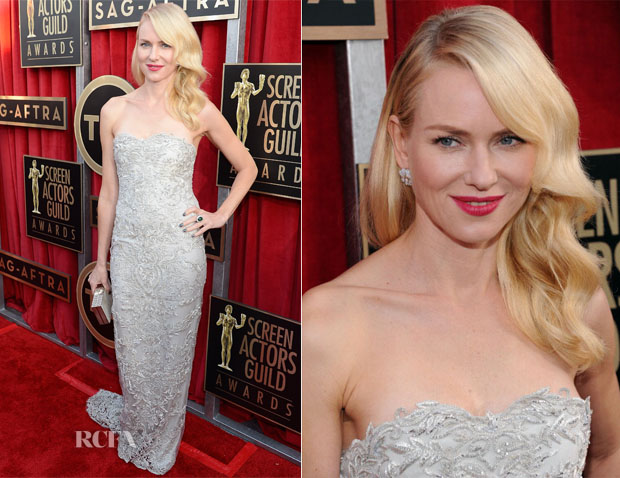 Naomi Watts In Marchesa - 2013 SAG Awards