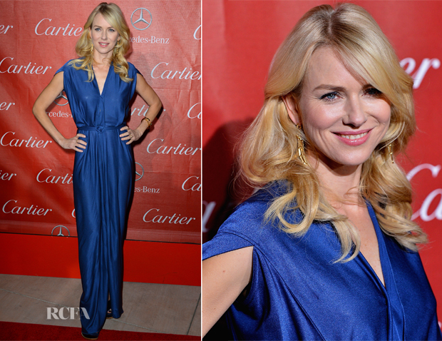 Naomi Watts In Roland Mouret - 2013 Palm Springs International Film Festival Awards Gala