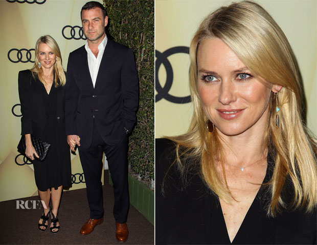 Naomi Watts In Roland Mouret - Audi Kicks Off Golden Globes Week 2013