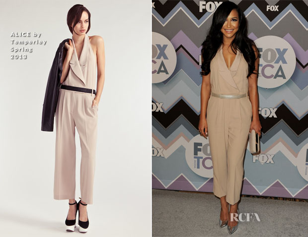Naya Rivera In ALICE by Temperley - FOX All-Star Party