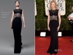Nicole Kidman In Alexander McQueen - 2013 Golden Globe Awards