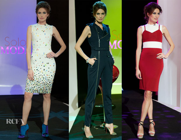 Nieves Alvarez In David Delfin  - Solo Moda