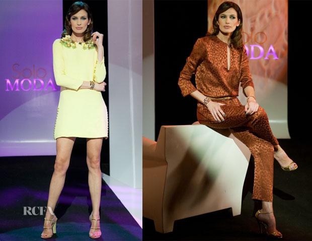 Nieves Alvarez In  Gucci - Solo Moda
