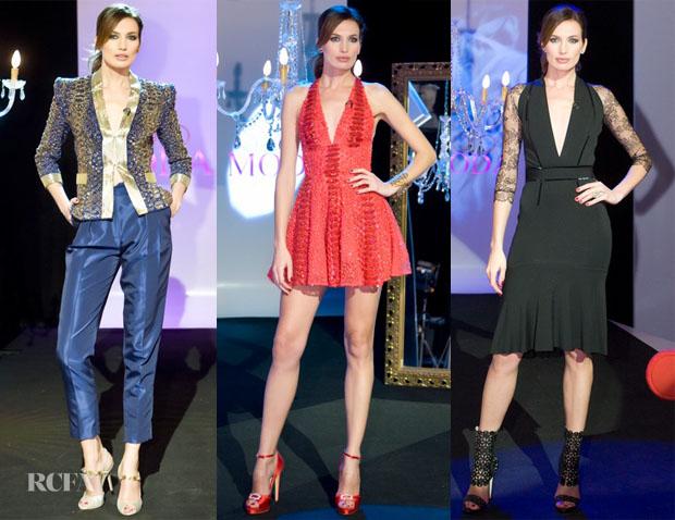 Nieves Alvarez In Zuhair Murad - Solo Moda