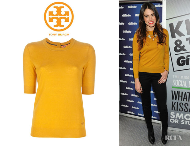 Nikki Reed's Tory Burch Cashmere Sweater