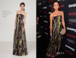 Nina Dobrev In Matthew Williamson - Entertainment Weekly's Pre-SAG Awards Party