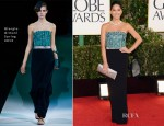 Olivia Munn In Giorgio Armani – 2013 Golden Globe Awards