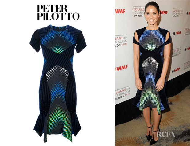 Olivia Munn's Peter Pilotto Alana Dress