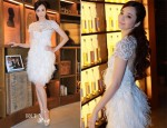 Pace Wu In Marchesa - Johnnie Walker House Celebrity Kitchen Event