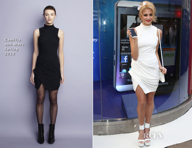 Pixie Lott In Camilla and Marc - BlackBerry Z10 Launch